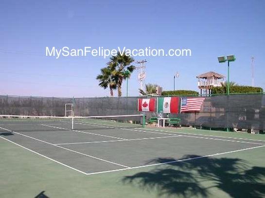 Tennis Courts - El Dorado Ranch San Feipe Image-1