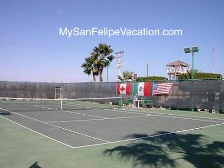 Tennis Courts - El Dorado Ranch San Feipe