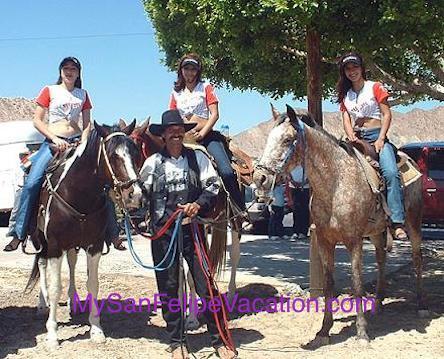 Horseback riding San Felipe, Baja California Image-1