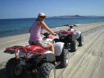 All Terrain Vehicles (ATVs) in San Felipe, Baja