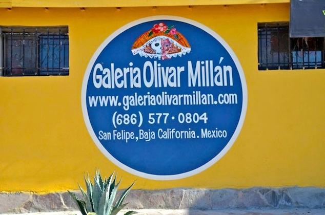 San Felipe Art Gallery - Galeria Olivar Millan