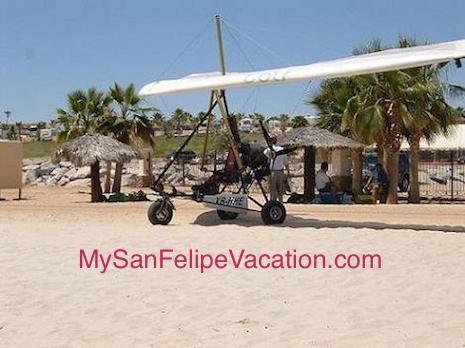 San Felipe Baja Mexico Ultralight Plane Flight Image-2