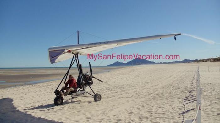 San Felipe Baja Mexico Ultralight Plane Flight Image-3