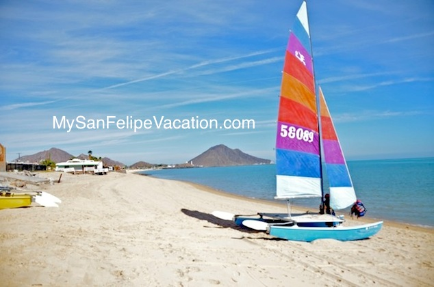 Sailing in San Felipe Mexico