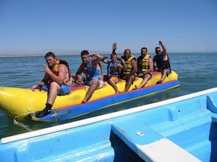 San Felipe watersports - Inflatable banana boat
