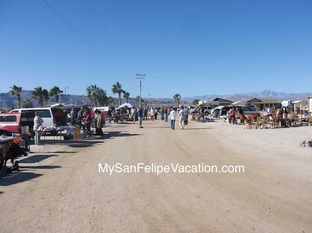 San Felipe Outdoor Swap Meet at  Cachanilla El Dorado Ranch