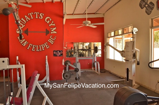 Squatts Gym San Felipe Baja Calliofrnia Mexico | Fitness Gym