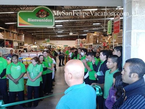 Two Biggest Supermarkets in San Felipe: Calimax and Bodega Aurrera