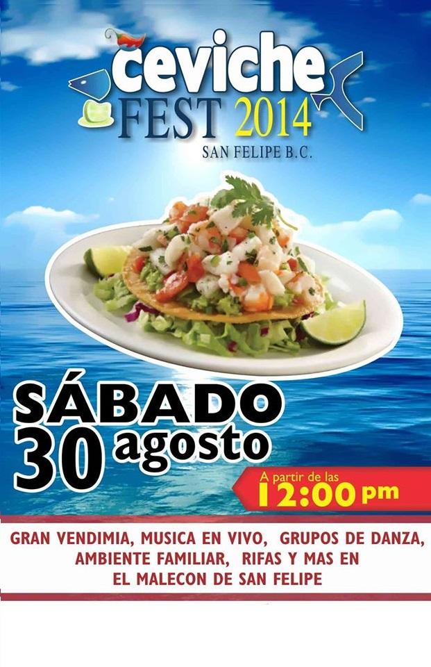 San Felipe Ceviche Festival 2014