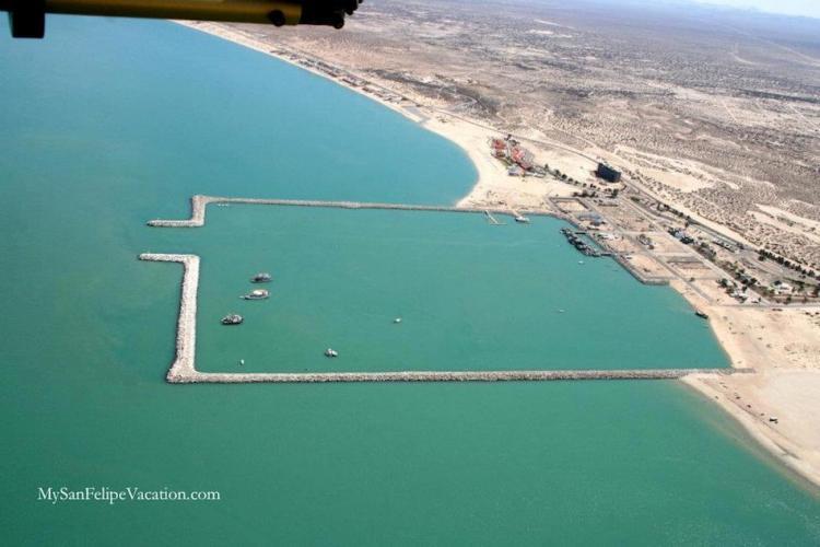 Aerial Shots of San Felipe Mexico