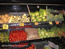 Alicia's Drive-through grocery store San Felipe - Fresh Produce