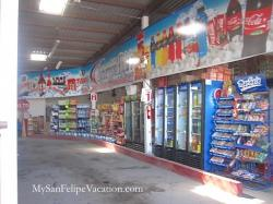 Alicia's Drive-through grocery store San Felipe