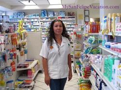 Pharmacists at Guadalupana Drug Store San Felipe