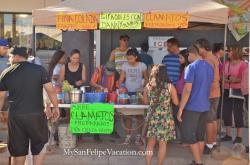 2014 San Felipe Shrimp Festival - Clamatos Preparados
