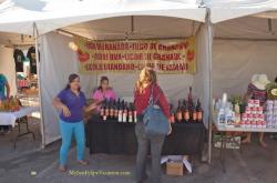 Licor De Granda stand - San Felipe Shrimp Festival 2014