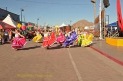 Performers at the San Felipe Shrimp Festival