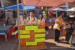San Felipe Shrimp Festival - Pina Colada stand