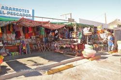 San Felipe Shrimp Festival 2014 store selling wares