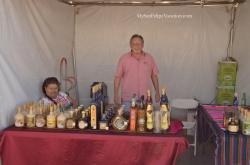 San Felipe Shrimp Festival 2014 - Tequila Stand