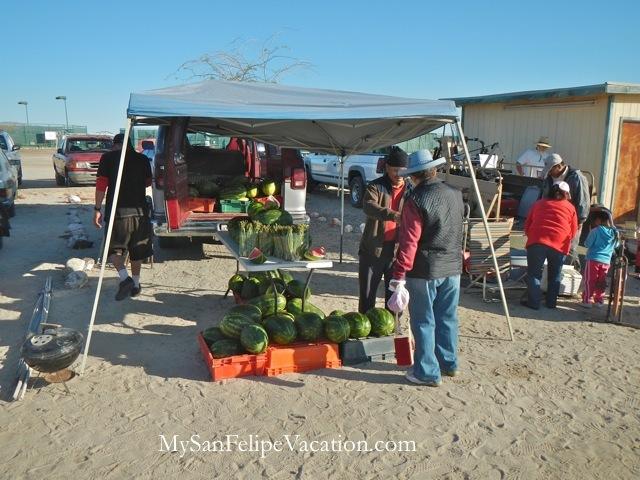 La Cachanilla Swap Meet Picture Gallery - El Dorado Ranch San Felipe