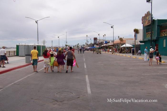 San Felipe Malecon - San Felipe Boardwalk Image-2