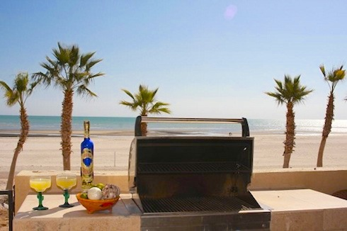 Beachfront Vacation Rental Condo in San Felipe Baja California Mexico