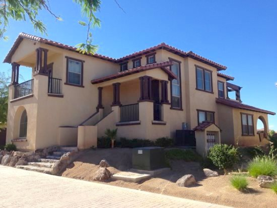 Nicely decorated San Felipe holiday rental condo with 2 car garage