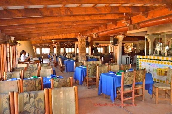Juanitos cantina san felipe baja restaurant review for Ranch house con cantina