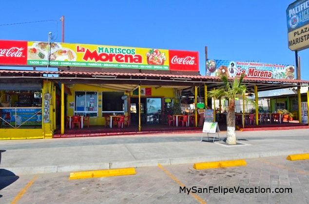 Mariscos La Morena San Felipe Restaurant