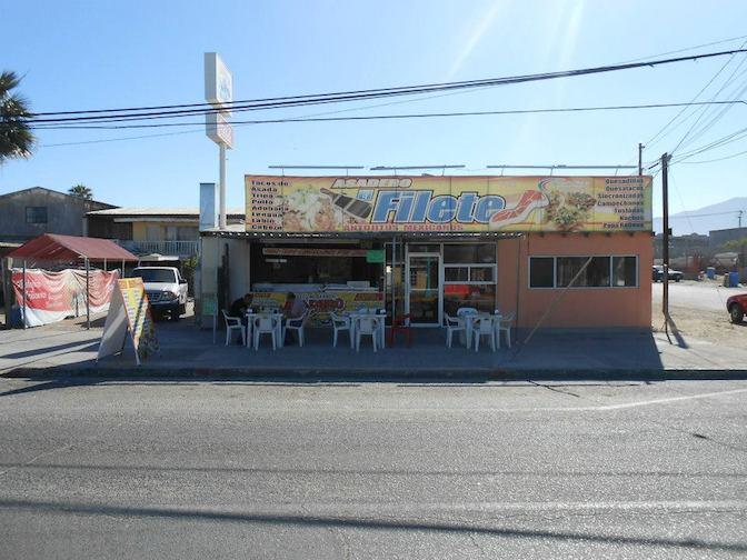 San Felipe Taco Stand - Tacos el Filete