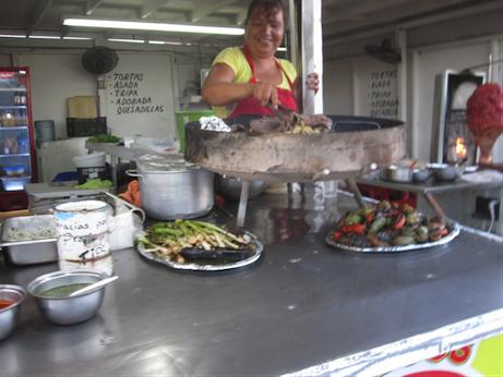 San Felipe Taco Stand - Tacos el Poblano